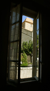 View of the Church from La Chambre Chemin�e